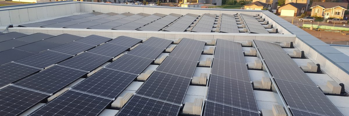35.6KW Southland School Medicine hat solar panels